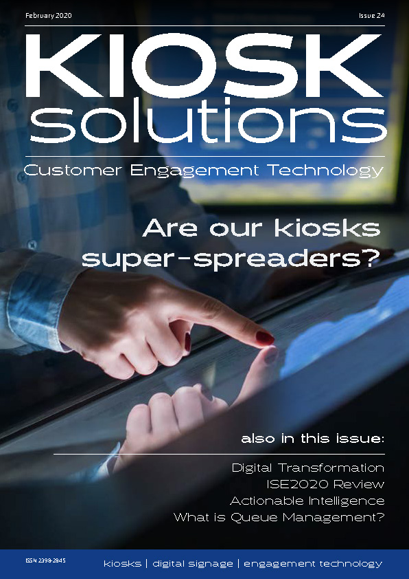 Kiosk Solutions Magazine, Feb-Mar 2020 Issue (front cover)