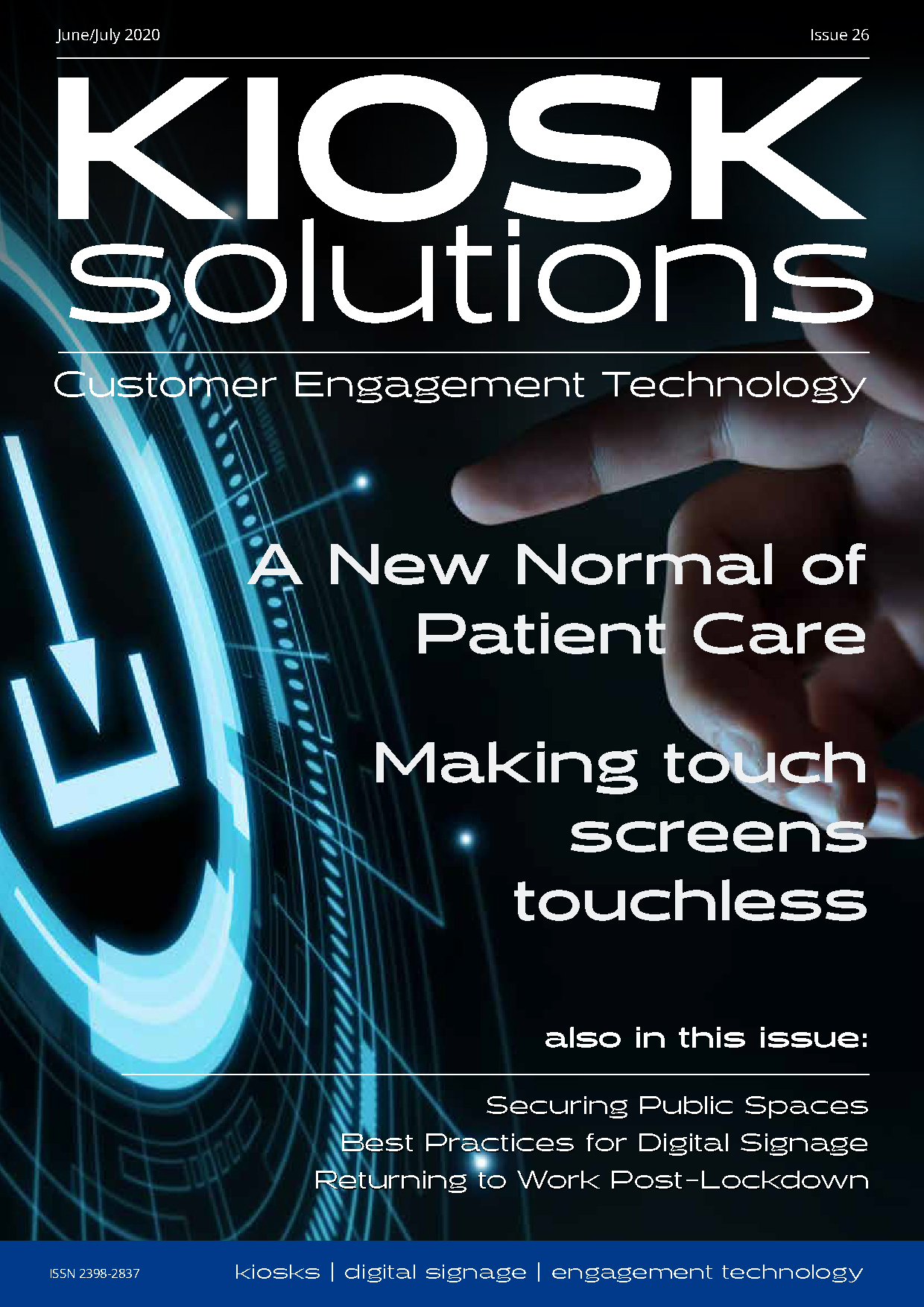 Kiosk Solutions Magazine, June - July 2020 Issue (front cover)