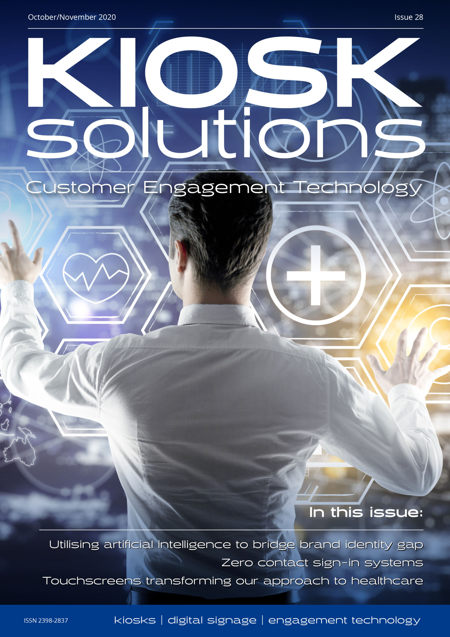 Kiosk Solutions Magazine, October - November 2020 Issue (front cover)