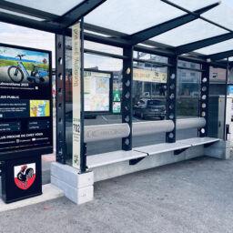 Swiss Municipality of Bussigny Installs Outdoor Kiosks