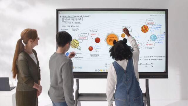 ViewSonic launches ViewBoard 52 Series interactive display