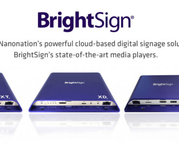 Nanonation is named an approved BrightSign BSN.cloud Integrated Partner
