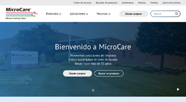 MicroCare Expands its Website with a New Spanish Language Feature